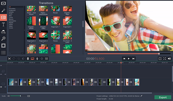 A powerful video editing software