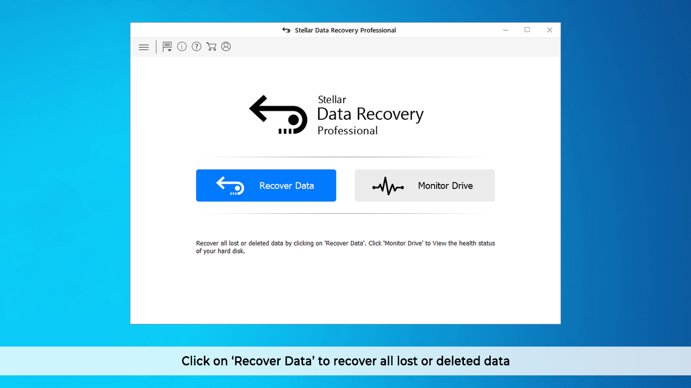Professional Data Recovery Software for Windows