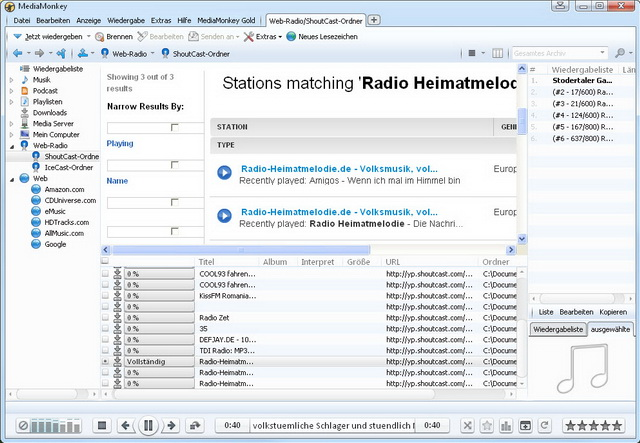 Der ultimative Musikmanager