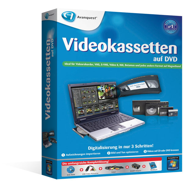 vhs digitalisieren software