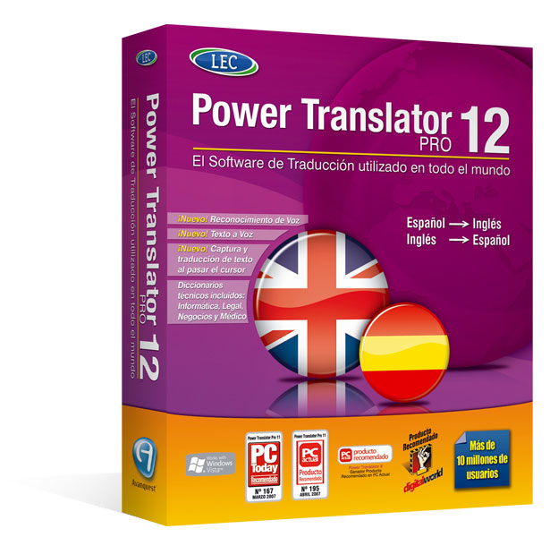 Adesivo Para Barra De Led ~ Power Translator Pro 12 Traduce con facilidad, rapidez y  u00a1máxima precisión! Incluye