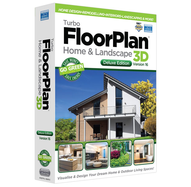 TurboFloorPlan Home & Landscape Deluxe