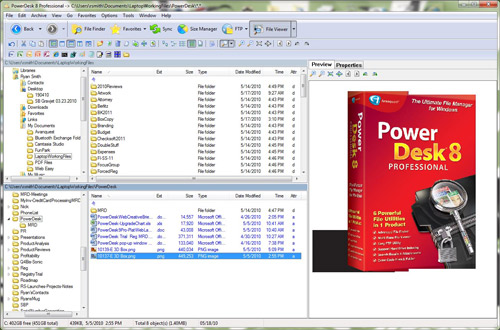 PowerDesk Pro 8 - The Ultimate File Manager for Windows!