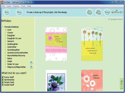 Hallmark card studio deluxe the no1 greeting card software the no1 greeting card software m4hsunfo
