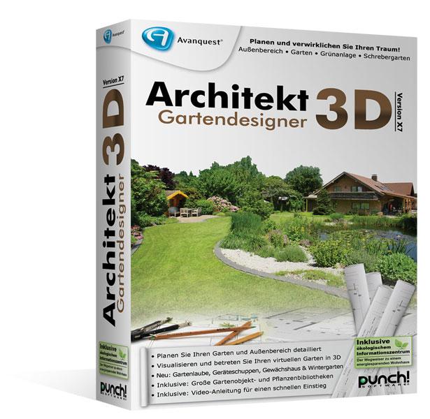 Architekt 3d x7 6 gartendesigner f r windows fotorealistische gartenplanung f r ihren pc - Gartenarchitektur software ...
