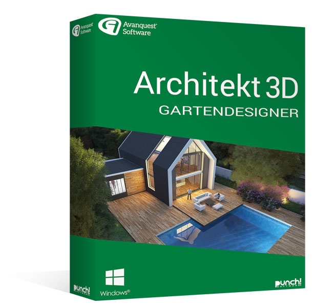 Architekt 3D 21 Gartendesigner für Windows®