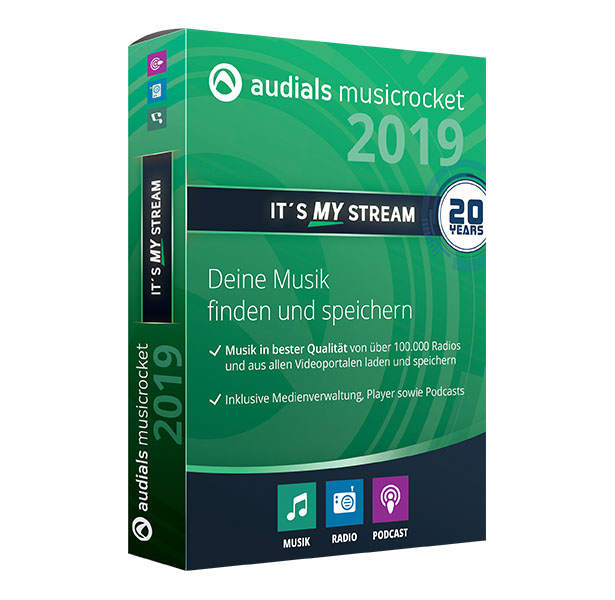 Audials Music Rocket 2019