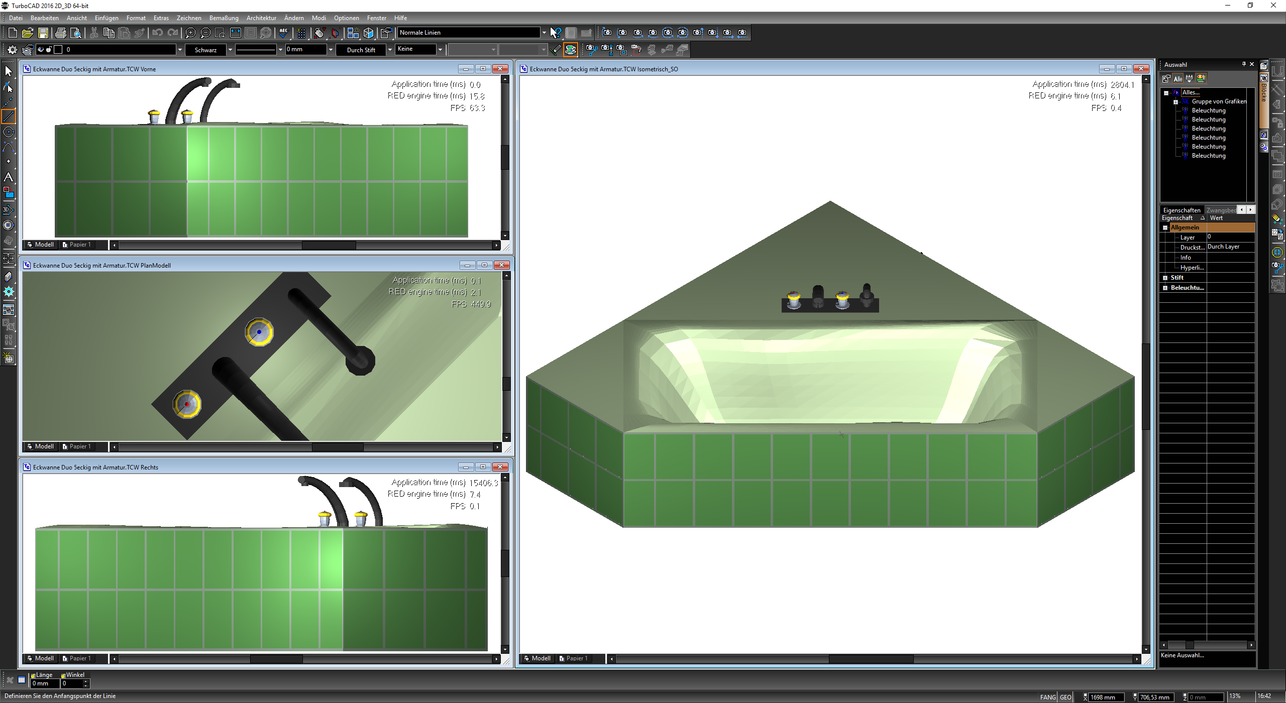 Erstklassige und professionelle 2d 3d cad software for 2d drawing online