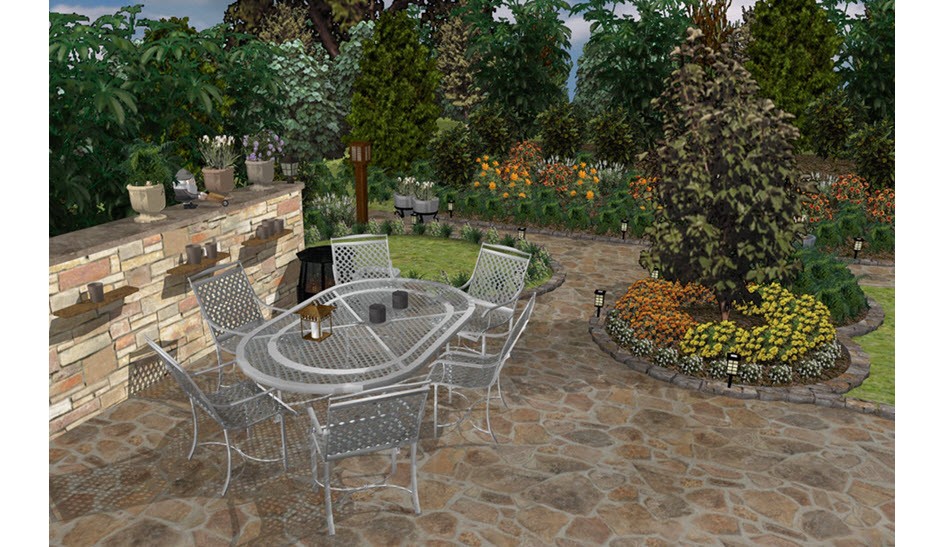 Plan, design and visualize your landscape and outdoor living spaces!