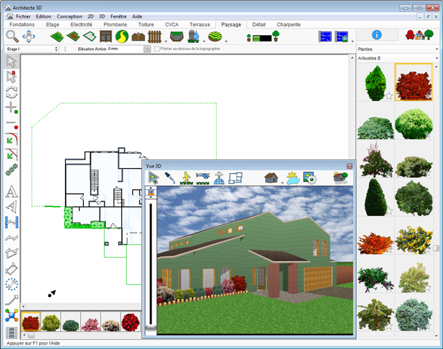Architect 3D Garden and Exterior 2017 (V19) - Plan, design and ...