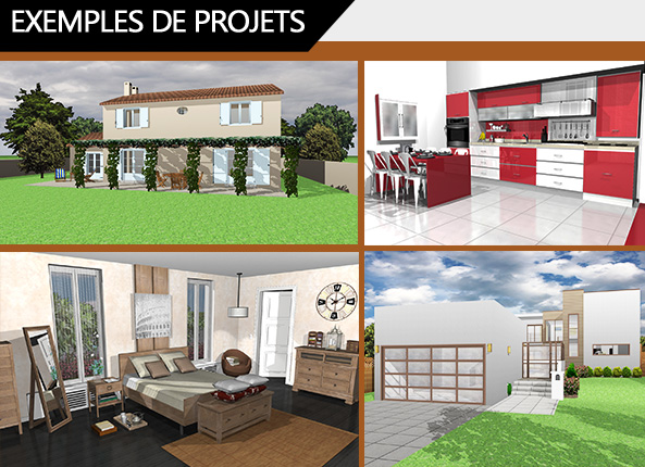 architecte 3d express 2017 le logiciel d 39 architecture 3d pour concevoir votre maison ou votre. Black Bedroom Furniture Sets. Home Design Ideas