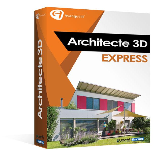 Architecte 3d express 2017 le logiciel d 39 architecture 3d for Architecte jardin 3d gratuit