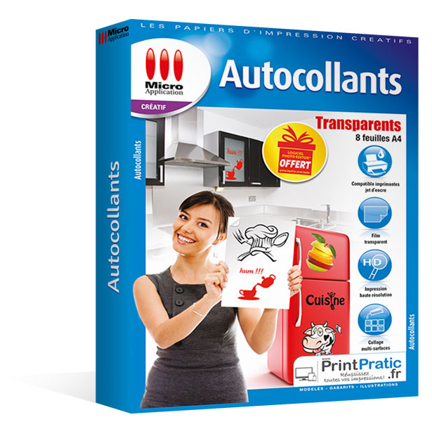 Imprimez Vos Etiquettes Affichettes Et Autocollants Transparents