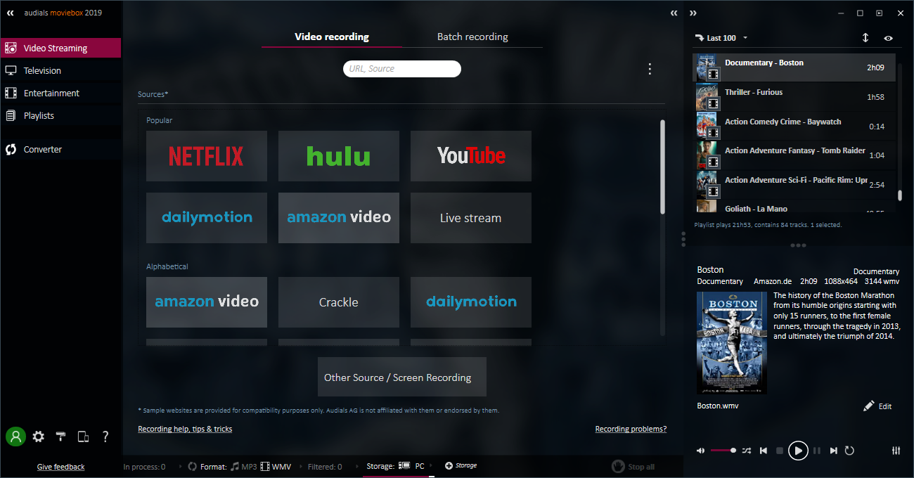 The Tool for Fans of Online Video Entertainment at a Low Price