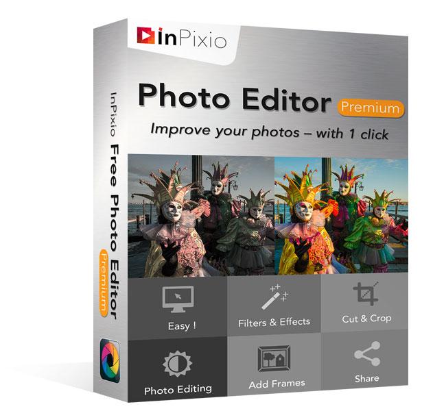 Inpixio Photo Editor Premium Edition Avanquest