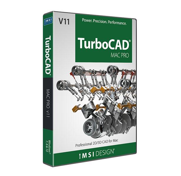Turbocad Mac Pro V11 Professional 2d3d Drafting Modelling