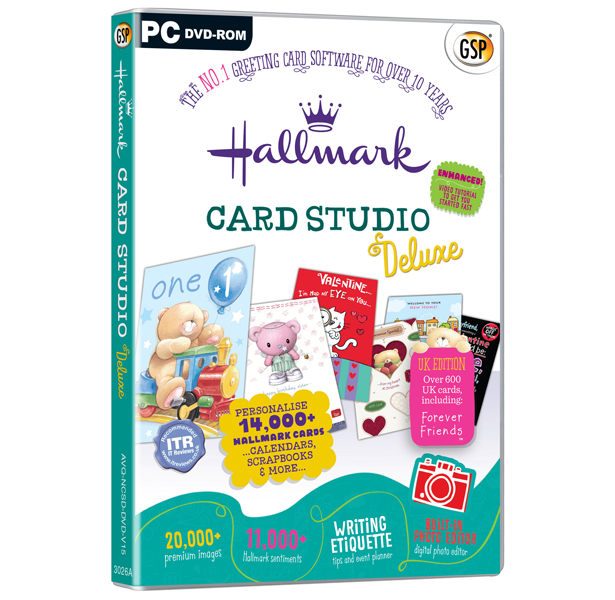 Hallmark card studio deluxe the no1 greeting card software hallmark card studio deluxe v15 m4hsunfo