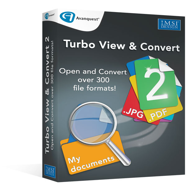 Turbo View & Convert - Advanced file viewing and conversion utility