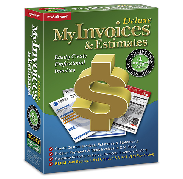 MyInvoices & Estimates Deluxe 10
