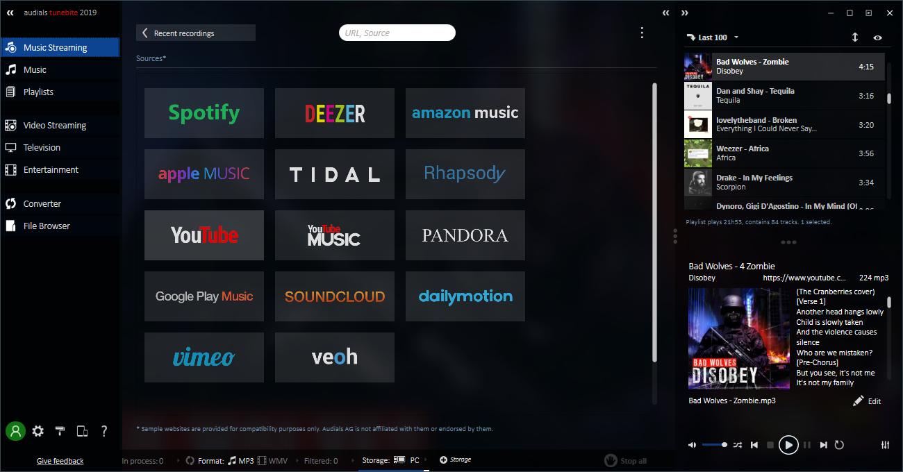 download music from deezer to computer